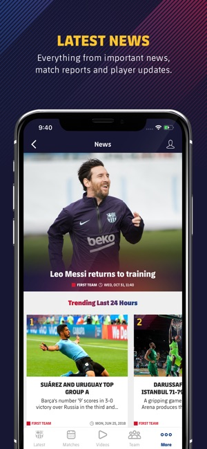 c884112c039 FC Barcelona Official App on the App Store