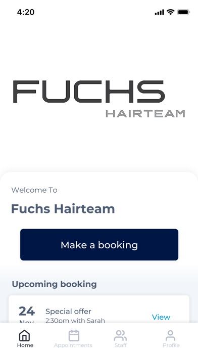Fuchs Hairteam screenshot 1
