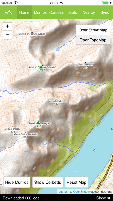 Munro Map Pro screenshot 3