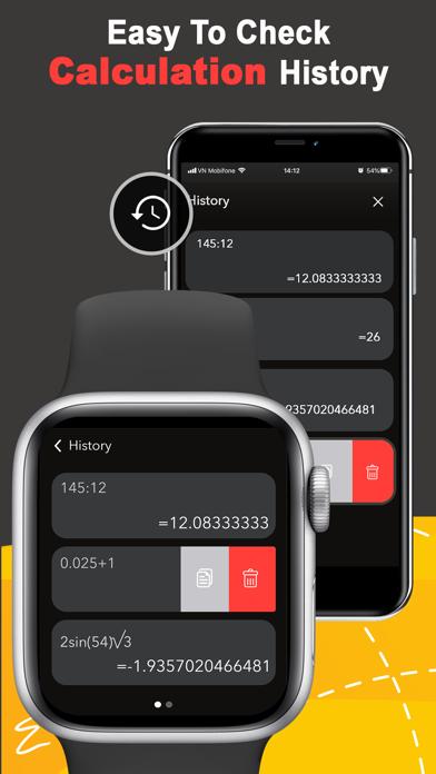 Calc Watch:Calculator on Watch screenshot 2