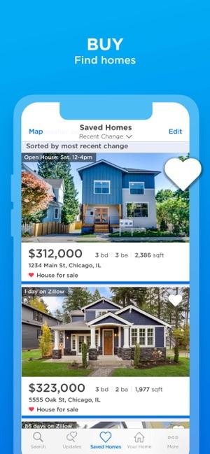 Zillow Real Estate Rentals En App Store