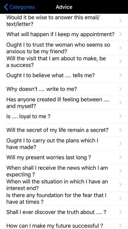 White Magic Fortune Teller screenshot-4