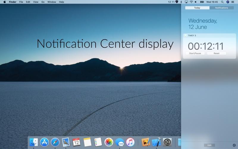 Timey 3: menu bar timer скриншот программы 5