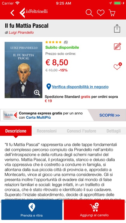 la Feltrinelli Mobile screenshot-4