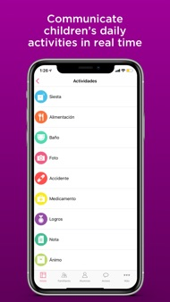 Aldea: Child care management iphone images
