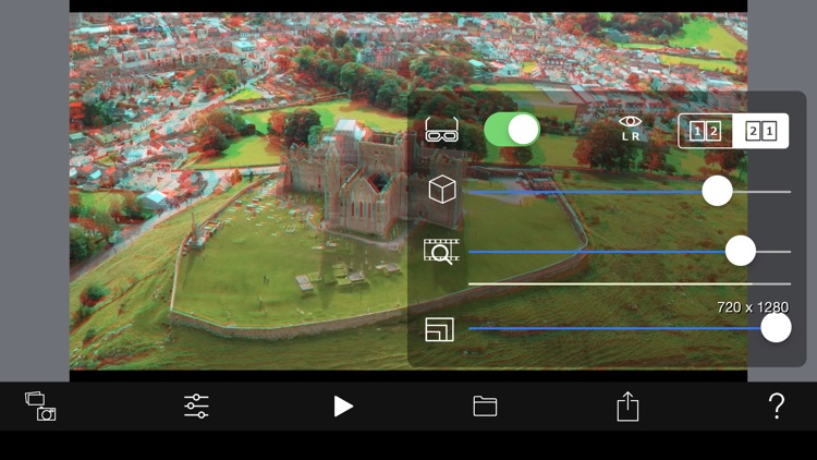3D Effect Video Camera