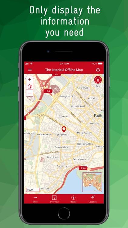 The Istanbul Offline Map screenshot-3