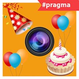 Birthday Photo Frame Editor