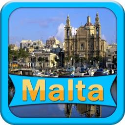 Malta Offline Map Travel Guide