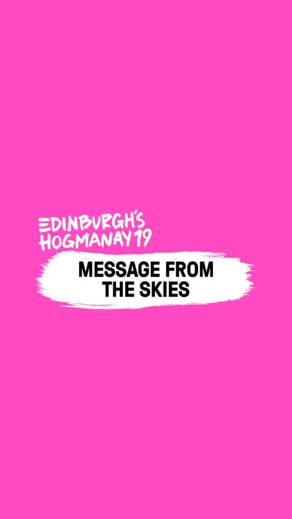 Message from the Skies