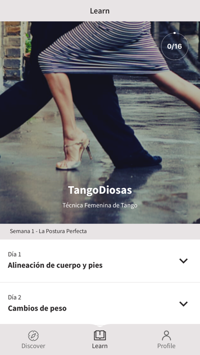 TangoDiosas screenshot #1