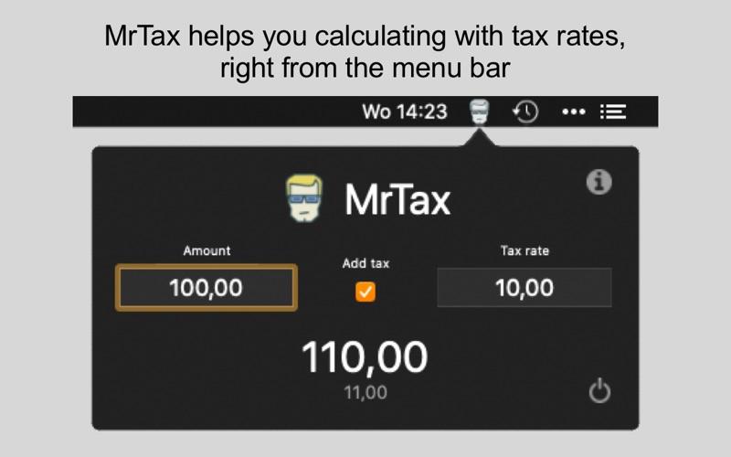 MrTax for Mac