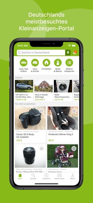 Ebay Kleinanzeigen A L App Store