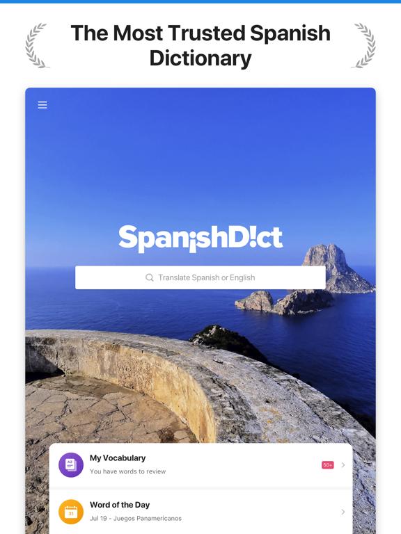 Spanish Translator and Dictionary - SpanishDict screenshot