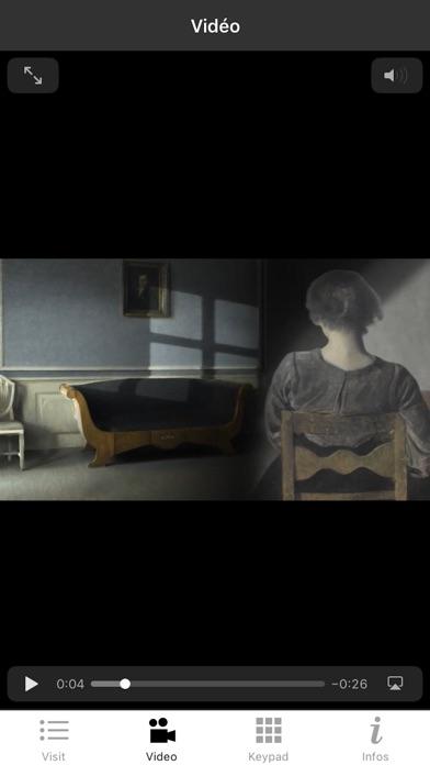 Hammershøi exhibition screenshot 4
