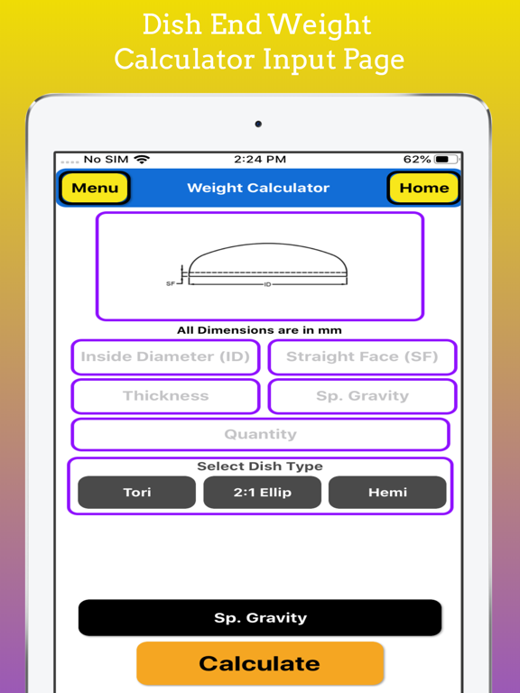 Fabrication Weight Calc Pro screenshot 18
