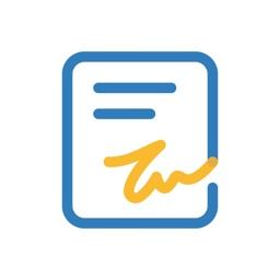 E-signature app - Zoho Sign