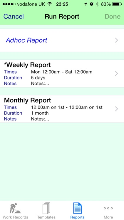 Work Diary Pro - Cloud screenshot-3