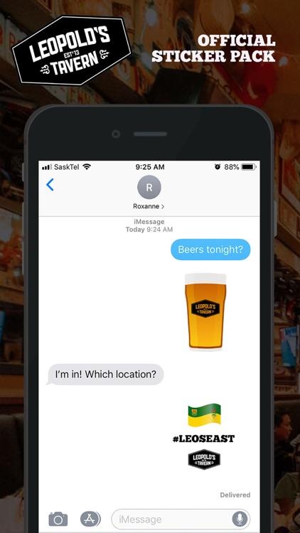 Leopold's Tavern Stickers screenshot-3