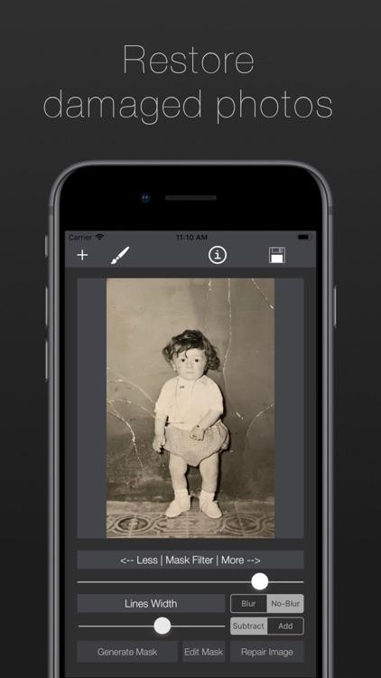 Damaged Photo Restore & Repair screenshot-0