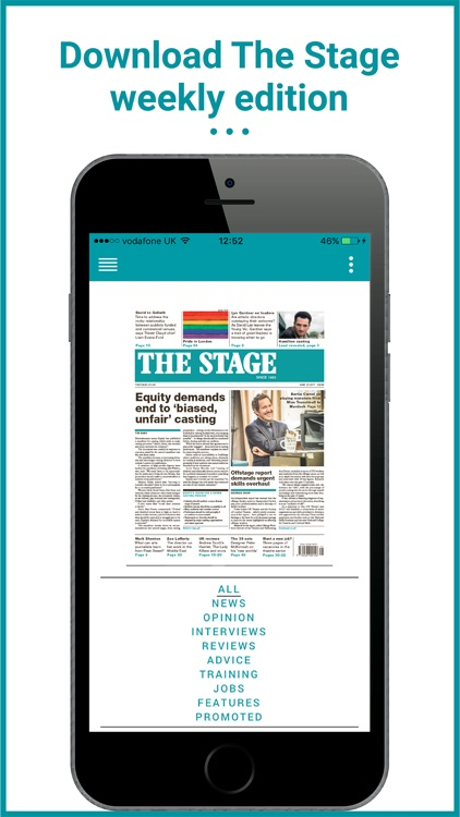 The Stage: Theatre News & Jobs screenshot-3