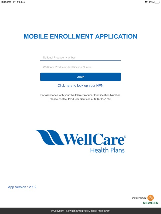 Wellcare Enrollment Platform On The App Store