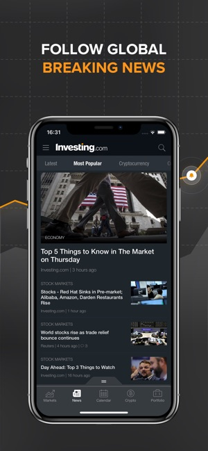 Investing com Stocks & Finance on the App Store