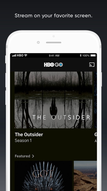 HBO GO: Stream with TV Package screenshot-0