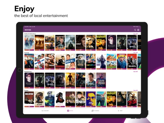 HOOQ - Movies, TV Shows & News - Revenue & Download estimates