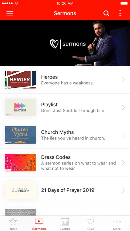 Desperation Church App