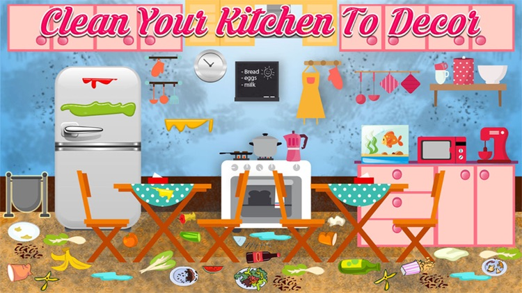Girl Messy Home Clean Up Games screenshot-4