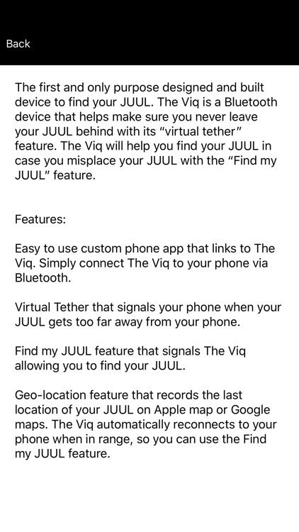 Find my Juul by Viq