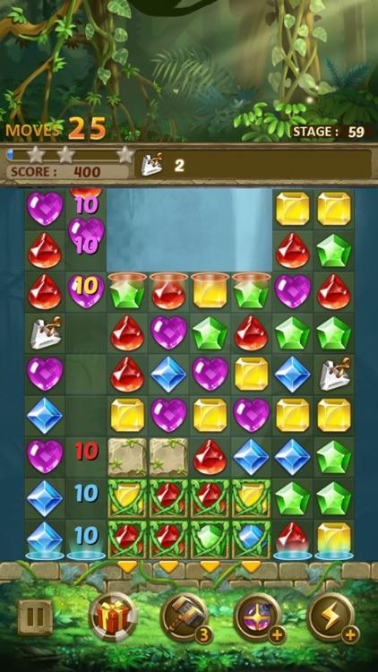 Jewels Jungle : Match 3 Puzzle screenshot-9