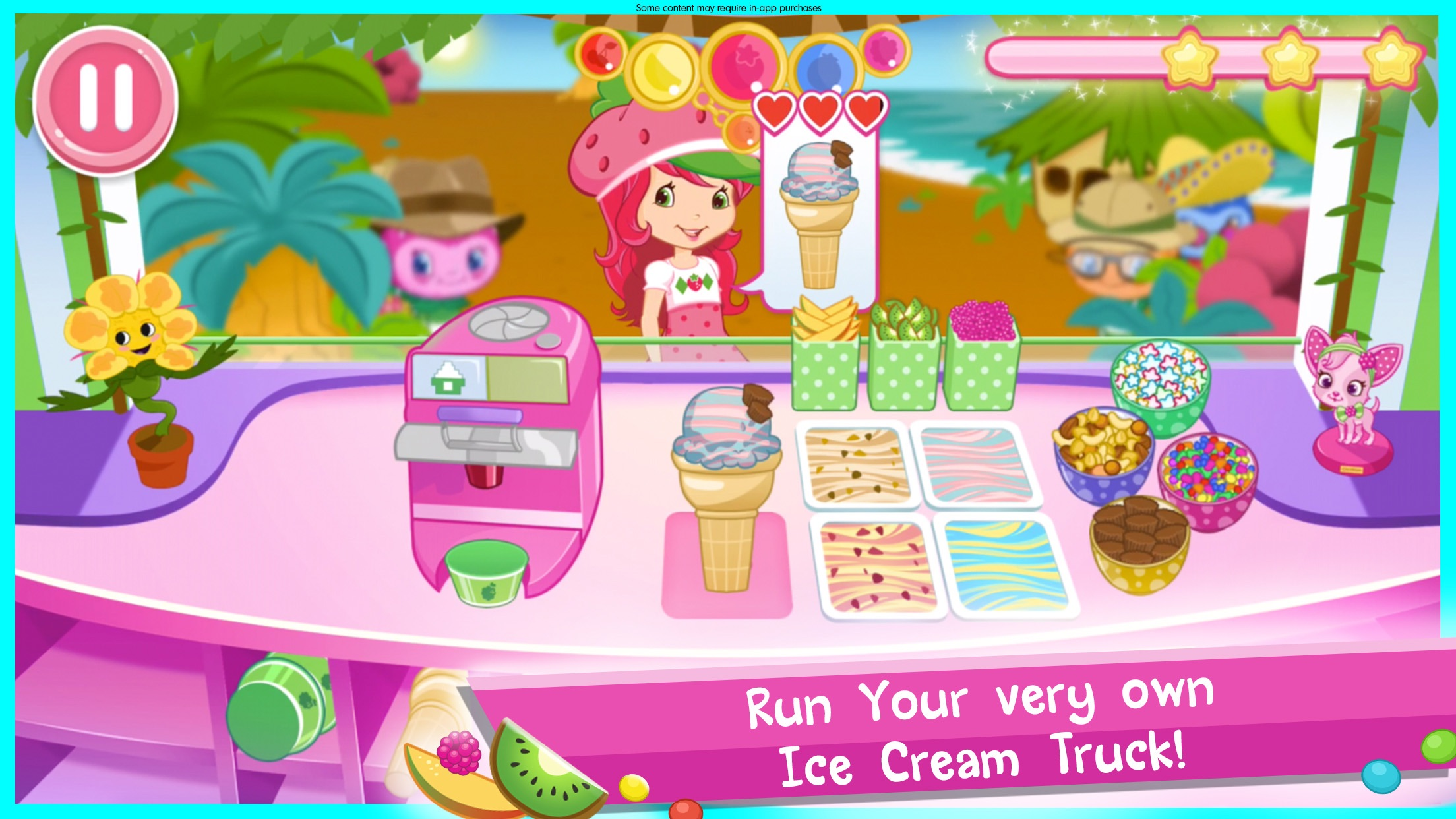 Strawberry Shortcake Ice Cream Screenshot