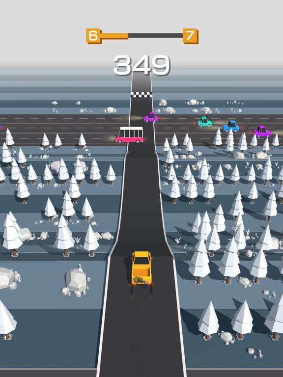 iPad Image of Traffic Run!