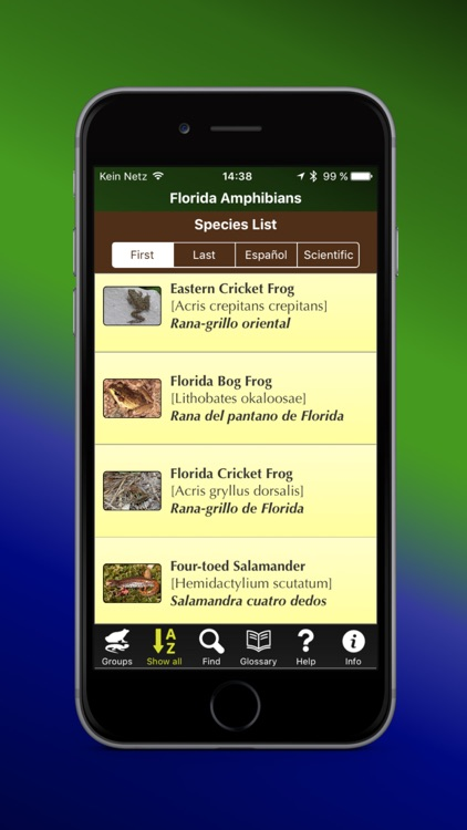 Florida Amphibians screenshot-1