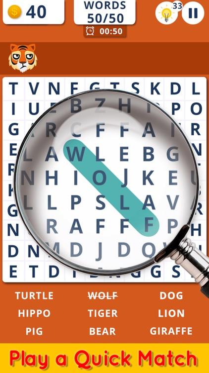 Word Search Fun Puzzle Game screenshot-3