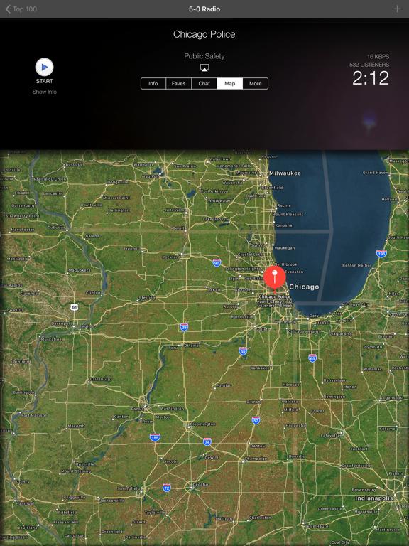 iPad Image of 5-0 Radio Police Scanner