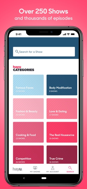 hayu – Reality TV On Demand on the App Store