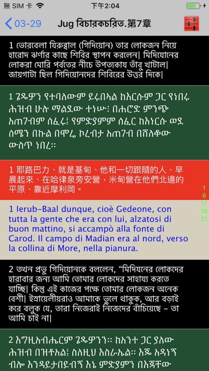 Bengali Audio Bible 孟加拉语圣经 screenshot-3