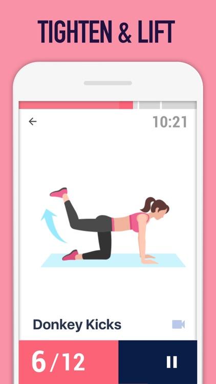 Female Fitness - Butt Workout