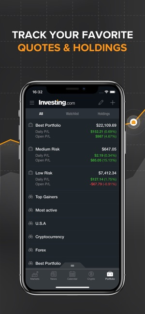 Investingcom Stocks On The App Store