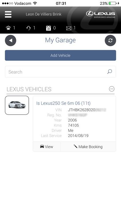 My Lexus S.A screenshot-3