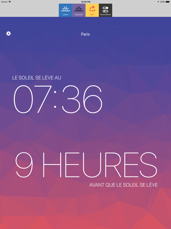 Screenshot #5 pour Lux - Sunrise and Sunset