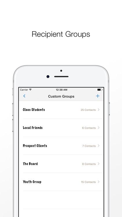 Reach: Mass Text, Email Blast screenshot-4