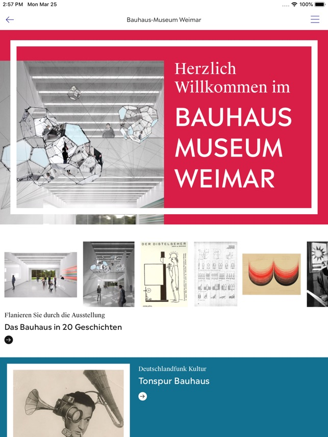 Bauhaus+ Screenshot