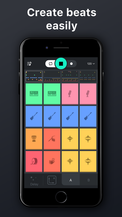 Beat snap 2 -music maker remix Screenshot