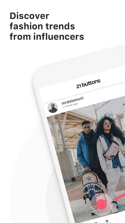 21 Buttons: Fashion Network screenshot-0