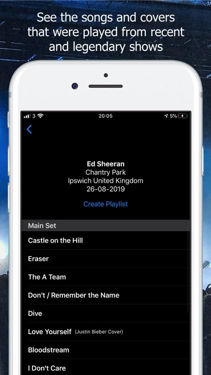 Setlist Carrot screenshot-3