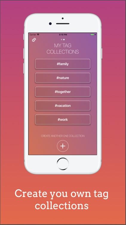 Tagenator - Tags for Instagram screenshot-3
